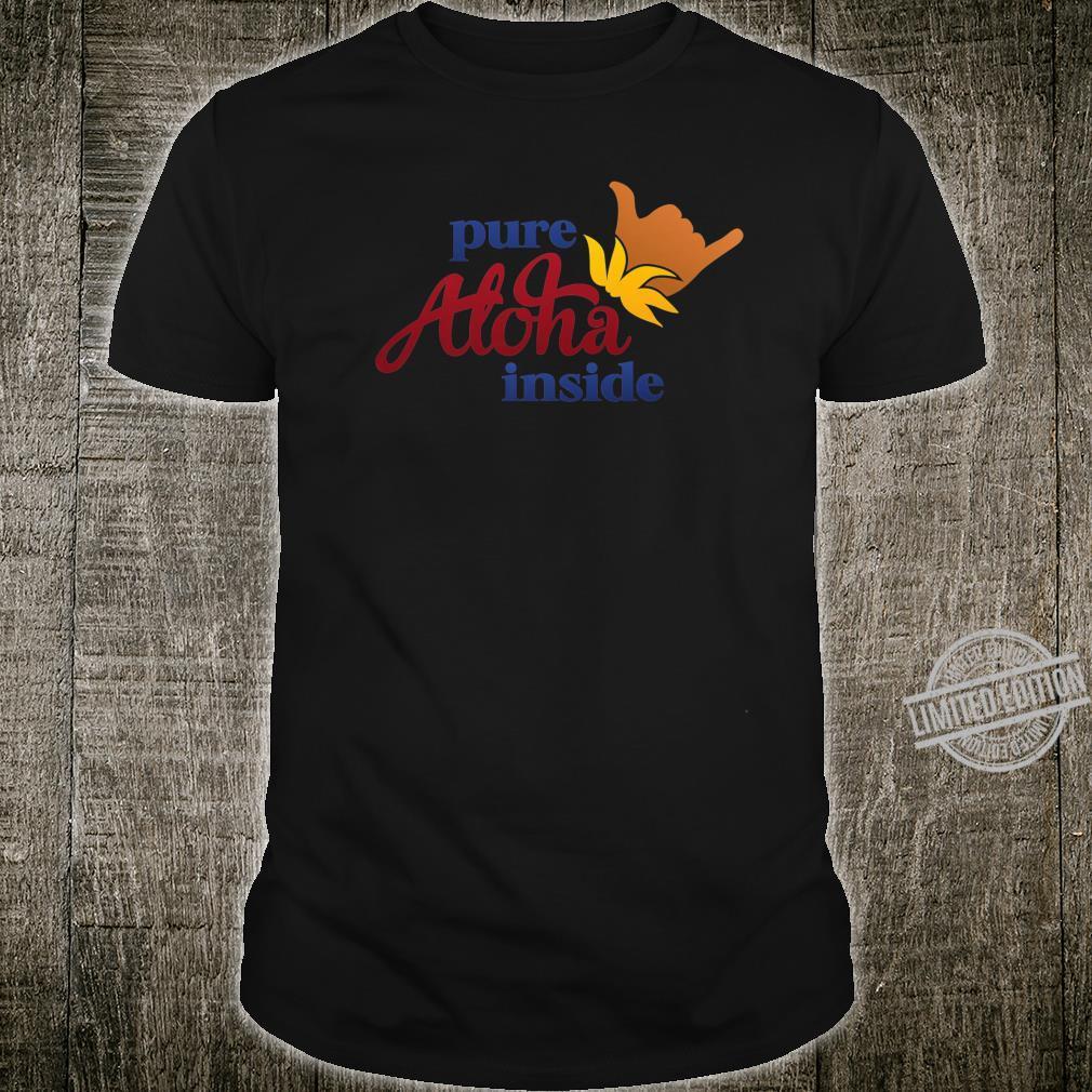 Aloha Shaka On Front Arizona State Flag On Back Souvenir Shirt