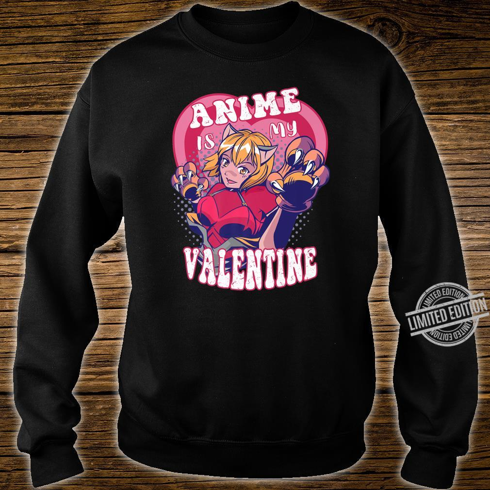 Anime Is My Valentine Anime Valentine's Day Shirt sweater