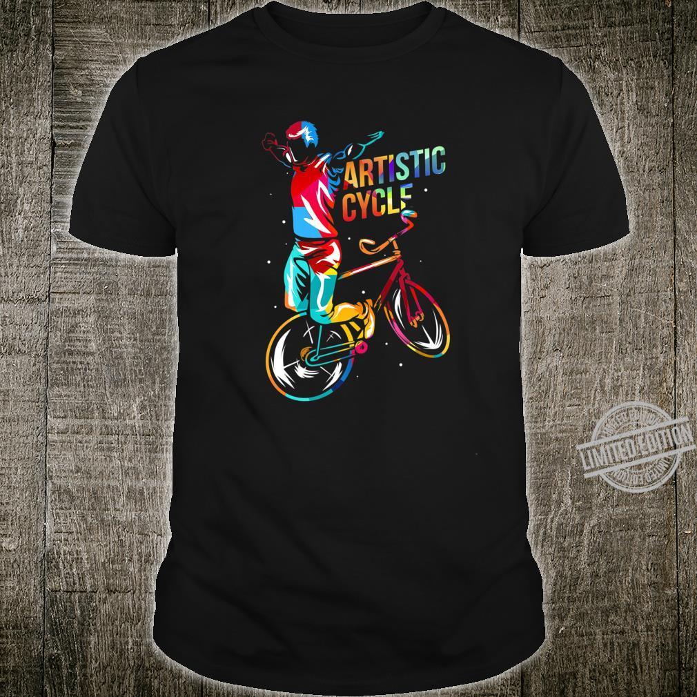 Artistic indoor cycling Shirt