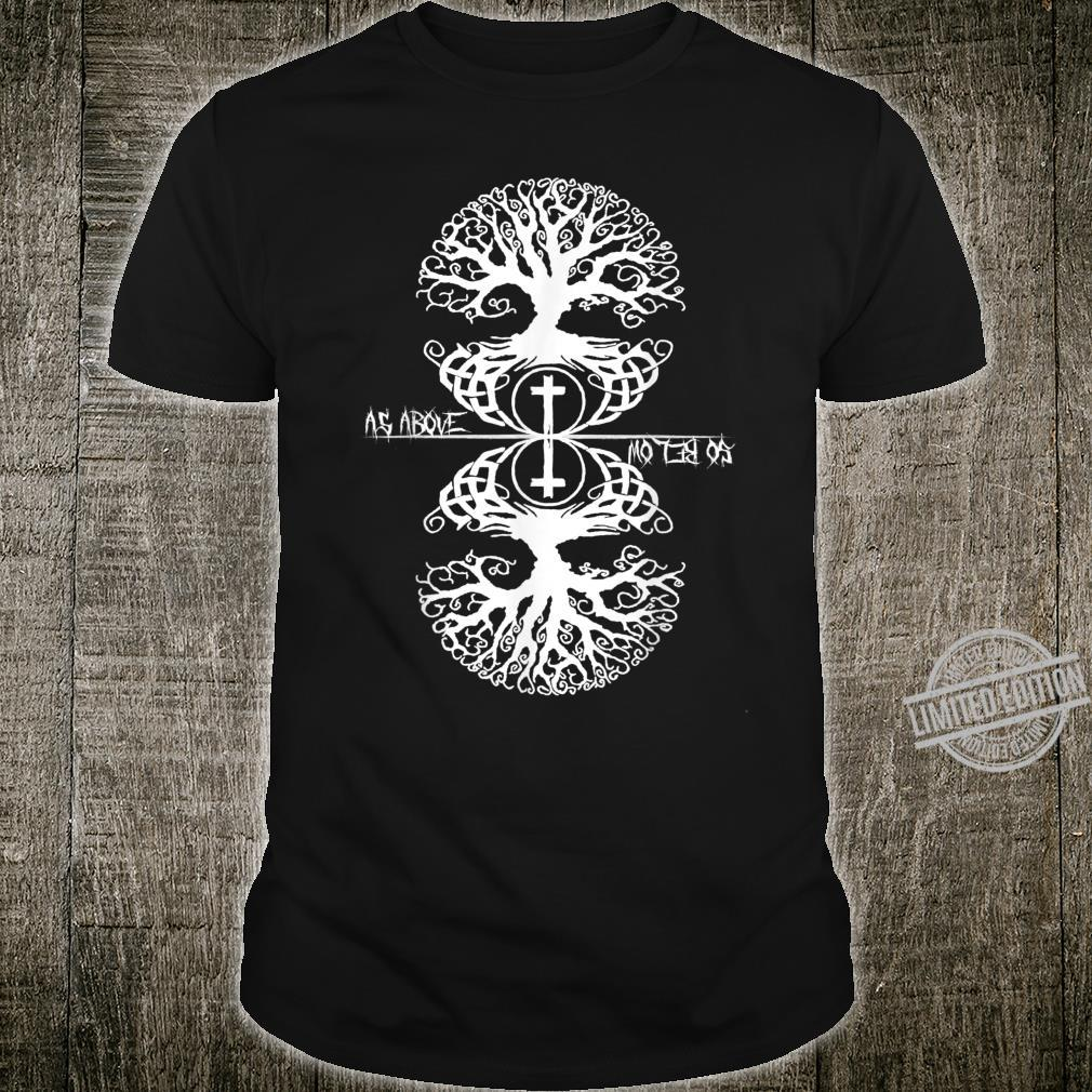 As Above So Below Occult Shirt
