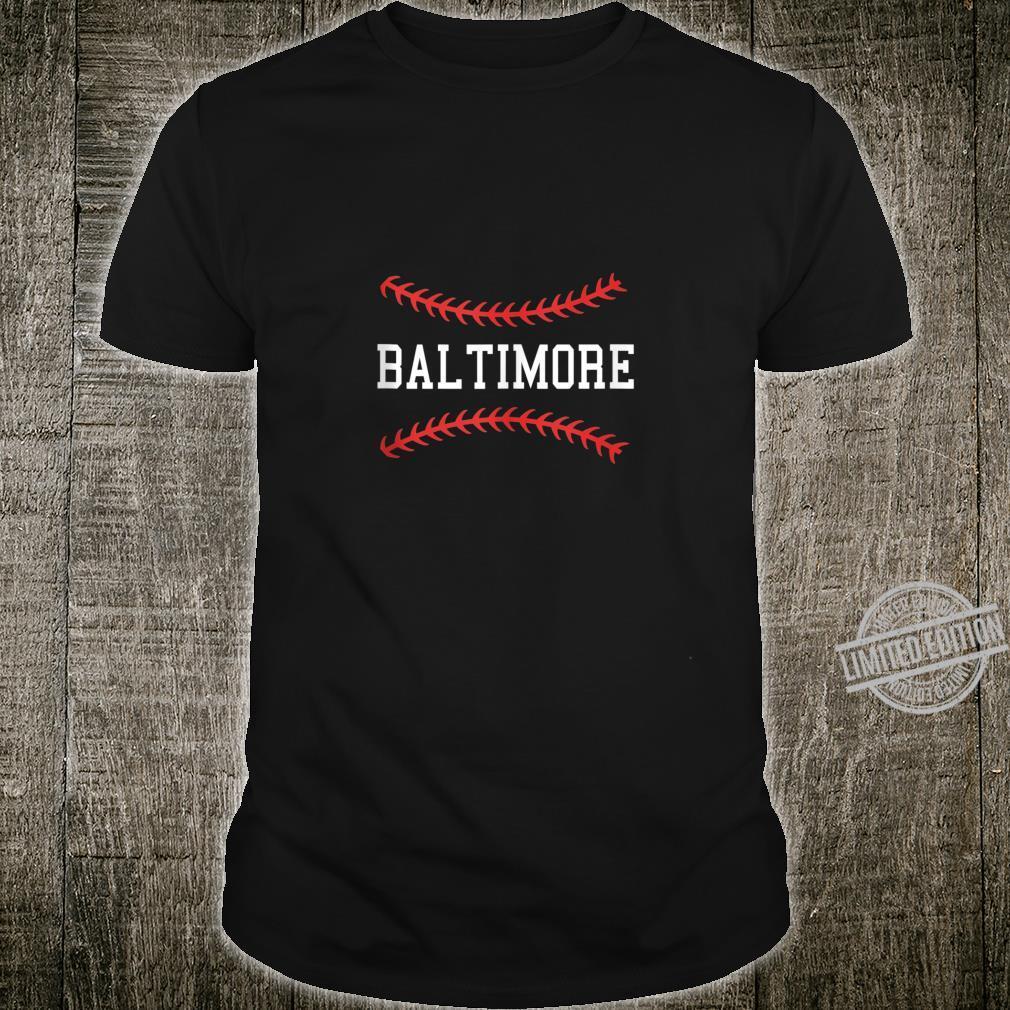 Baltimore Baseball Vintage Oriole Retro Baseball Shirt