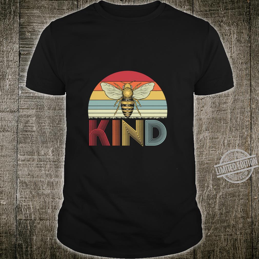 Bee Kind Kindness Vintage Be Kind Shirt