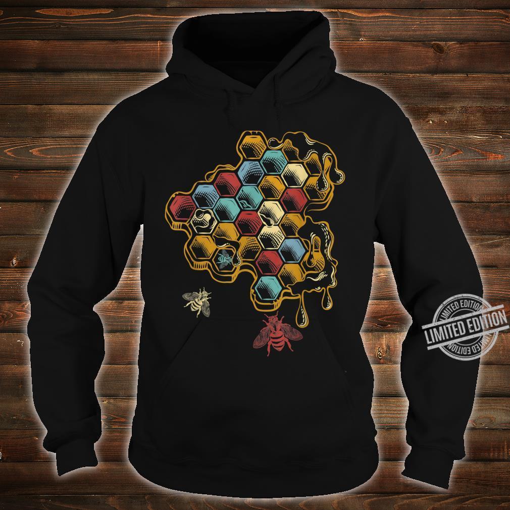 Beehive Retro Vintage Bee Shirt hoodie