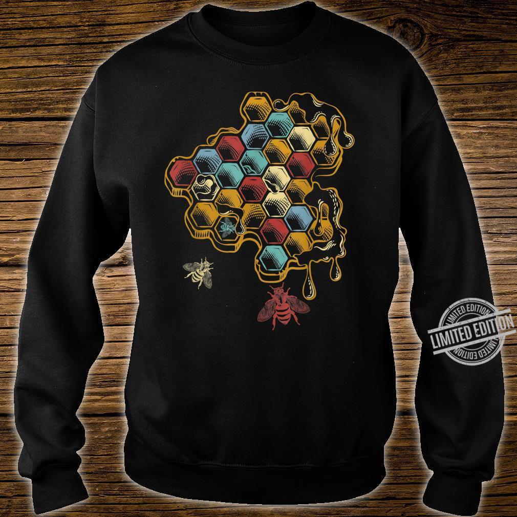 Beehive Retro Vintage Bee Shirt sweater