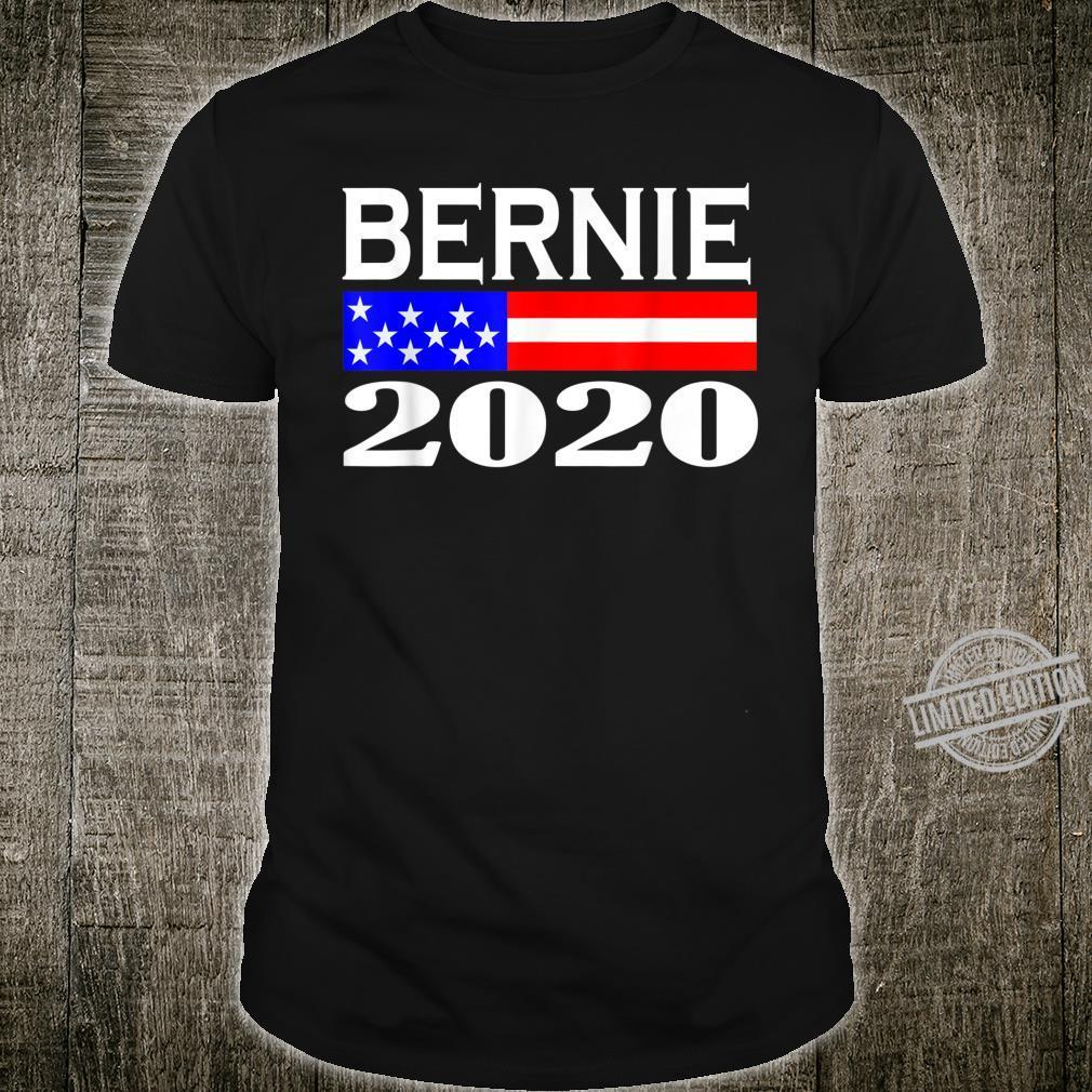 Bernie For 2020 Flag Shirt