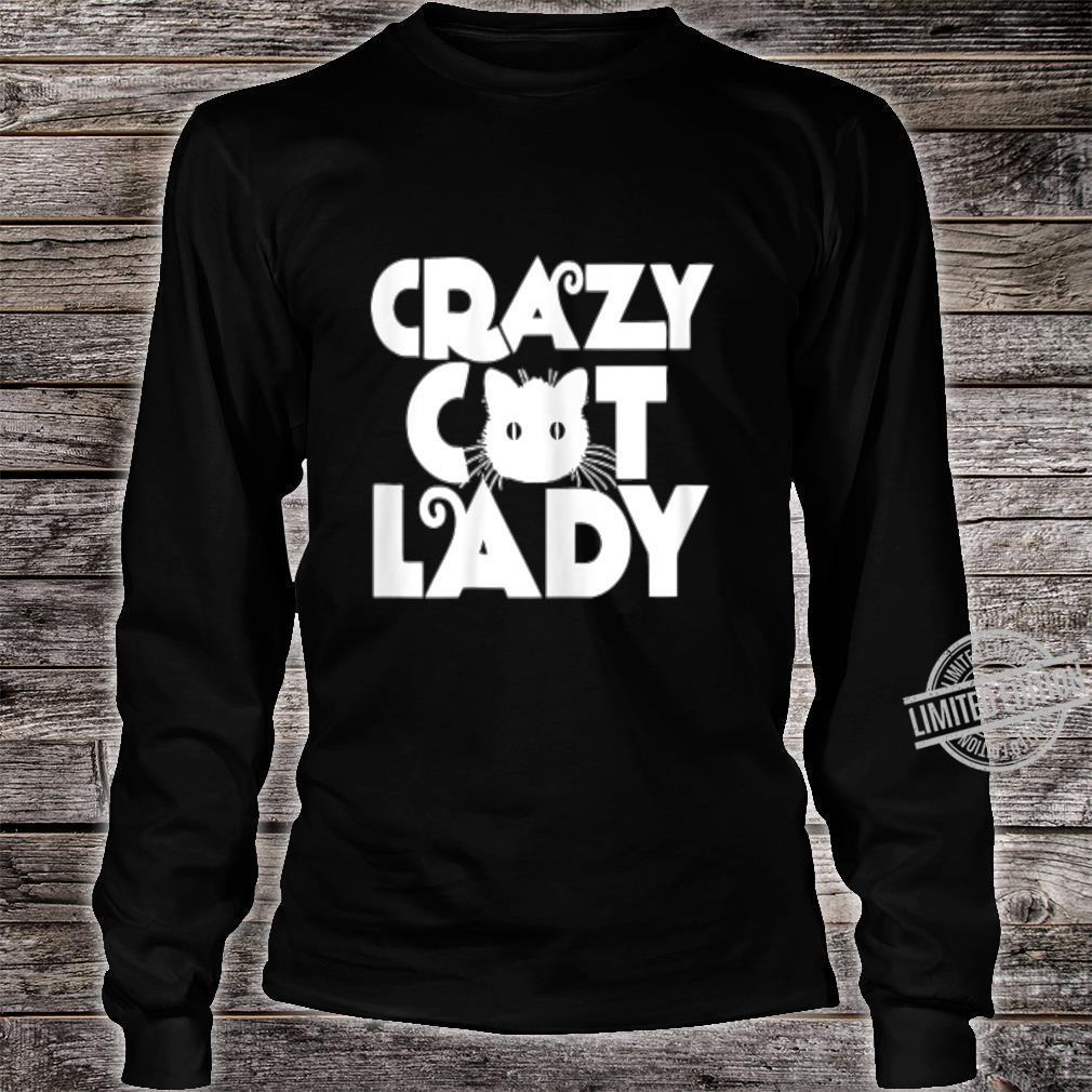CRAZY CAT LADY Shirt long sleeved