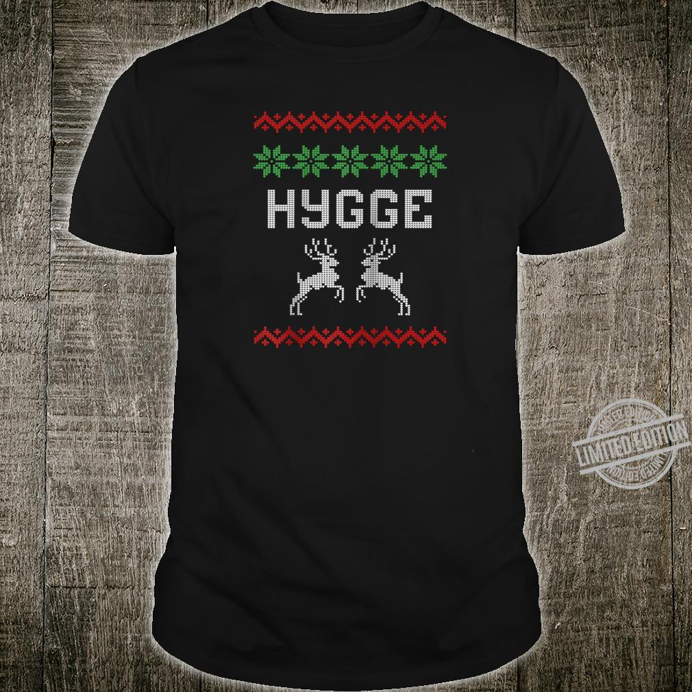 Cosy and Comfy Danish Ugly Shirt Hygge Design Shirt