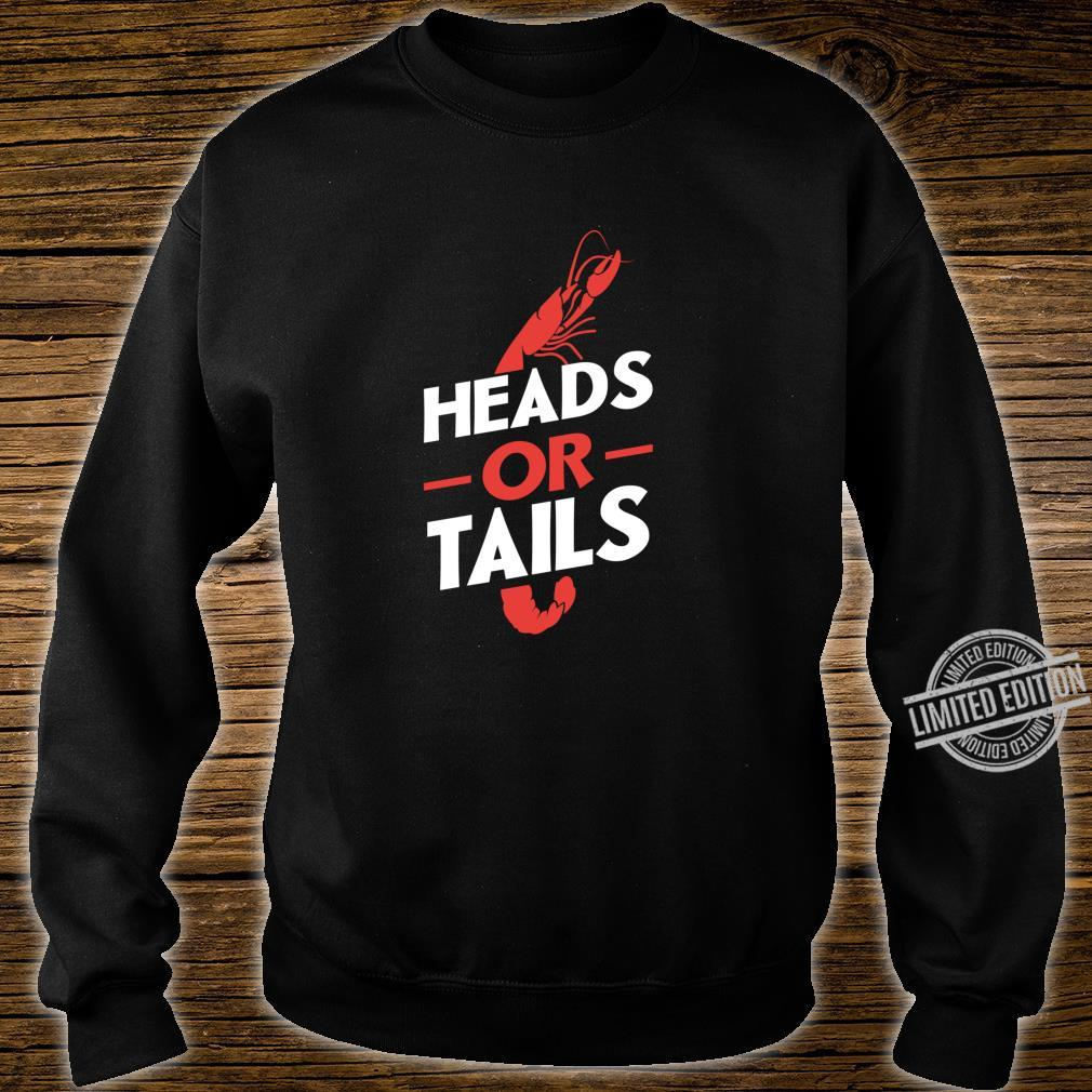 Crawfish Heads Or Tails Vintage Boil Party Southern Cooking Shirt sweater