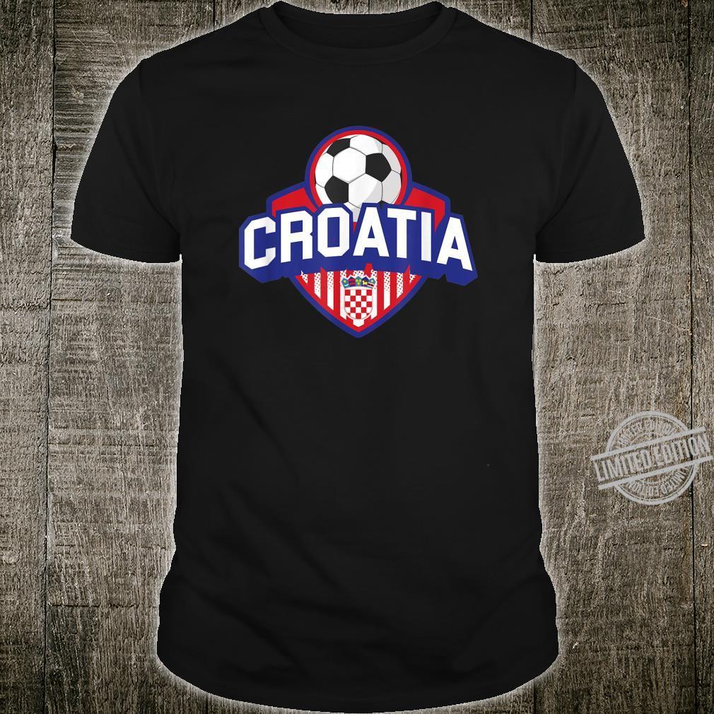 Croatian Flag Croatia Soccer Shirt