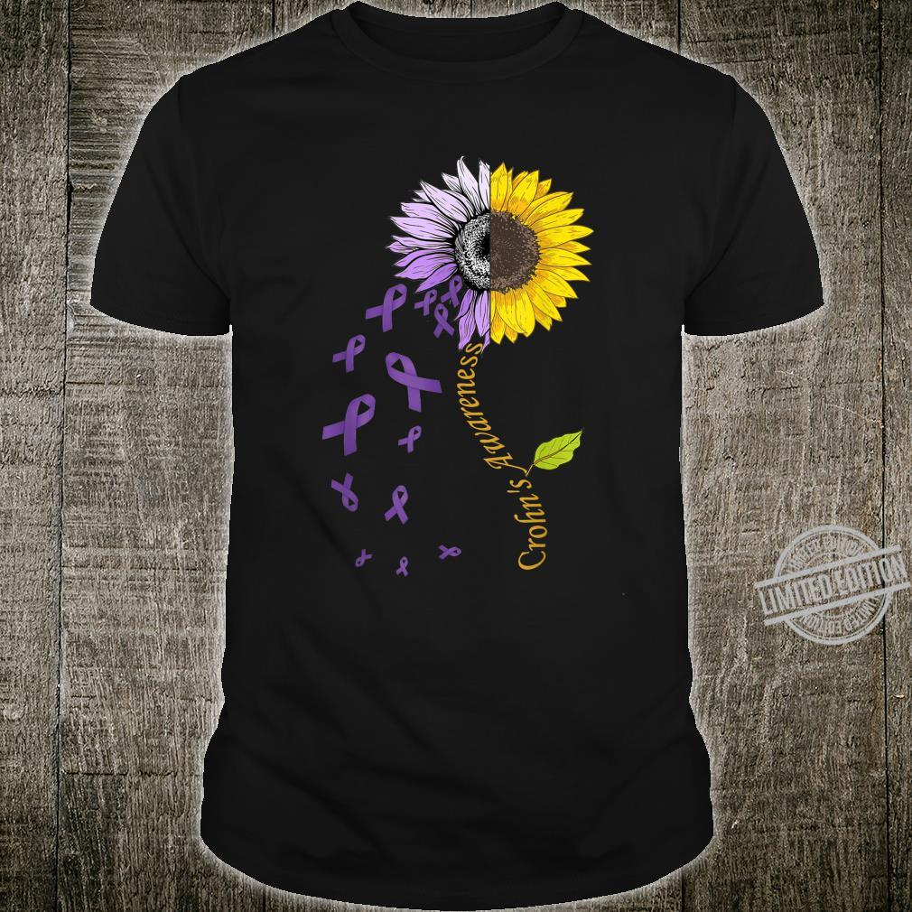 Crohn's Awareness Sunflower Shirt Disease Shirt