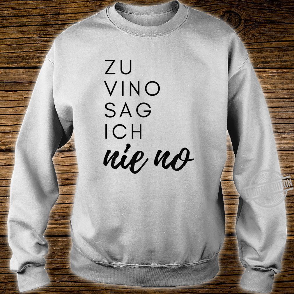 Damen Weintrinker Weinkenner Rotwein Weisswein Wein Party Geschenk Shirt sweater
