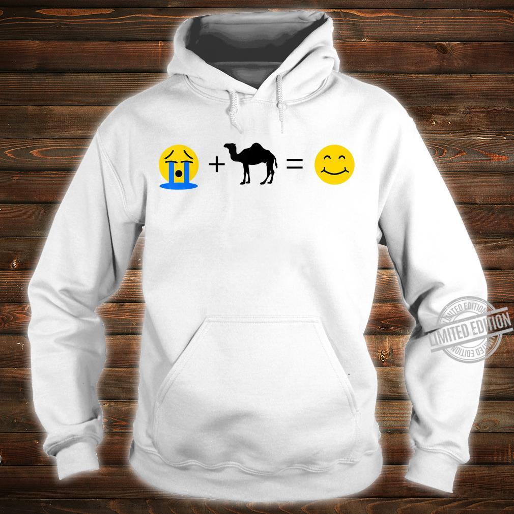 Dromedar Emoji Lustige Dromedare machen mich glücklich Shirt hoodie