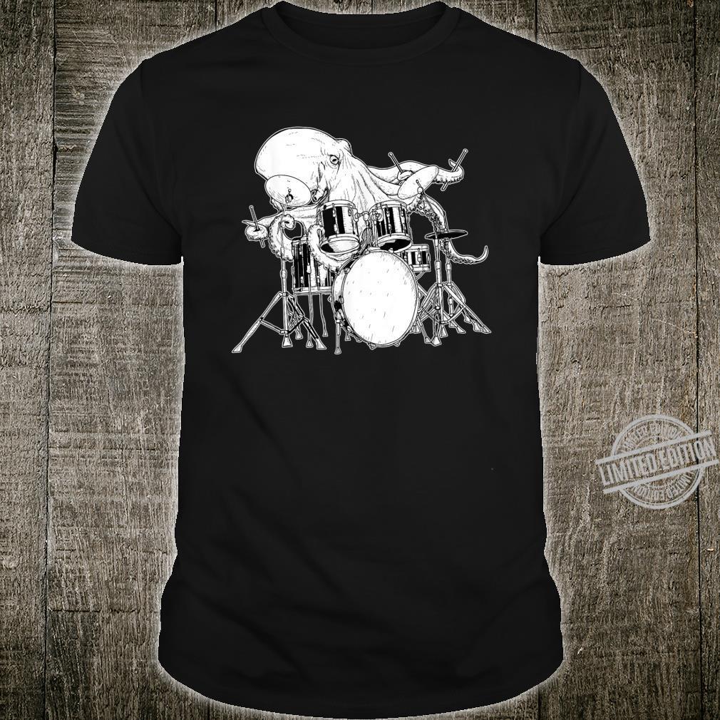 Drummer Rock Band Shirt for Drummers Drum Krakes Shirt