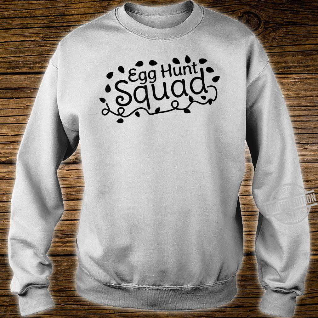 Egg Hunt Squad Easter Hunting Outfit Boys Girls Shirt sweater