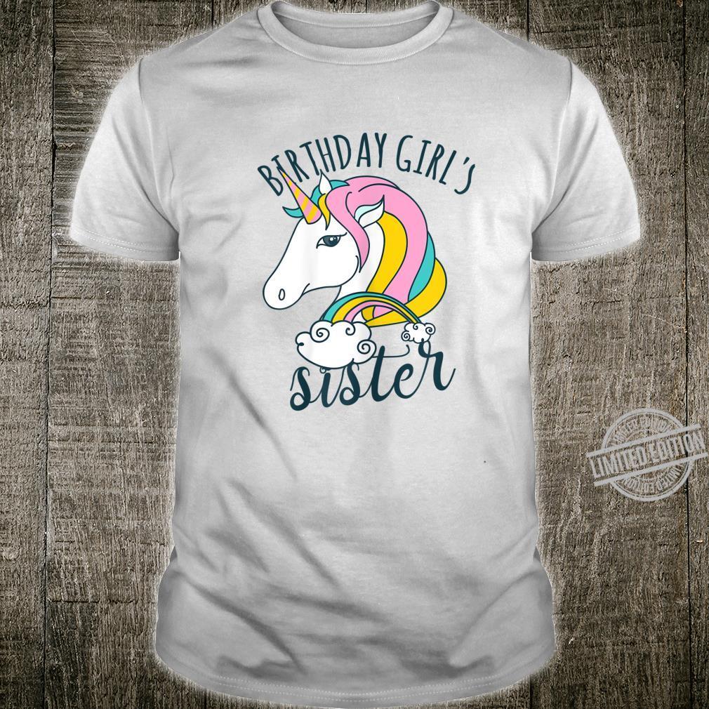 Einhorn Regenbogen Unicorn Damen Mädchen Geburtstag Shirt