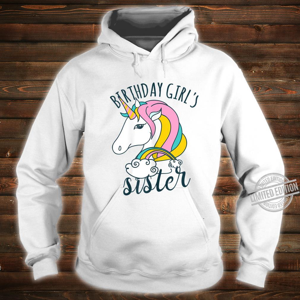Einhorn Regenbogen Unicorn Damen Mädchen Geburtstag Shirt hoodie