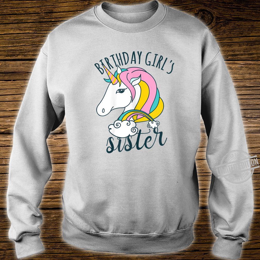 Einhorn Regenbogen Unicorn Damen Mädchen Geburtstag Shirt sweater