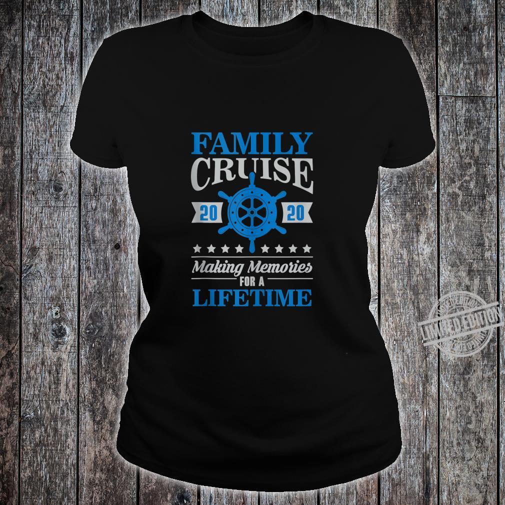 Family Cruise Shirt Matching 2020 Vacation Cruising Holiday Shirt ladies tee