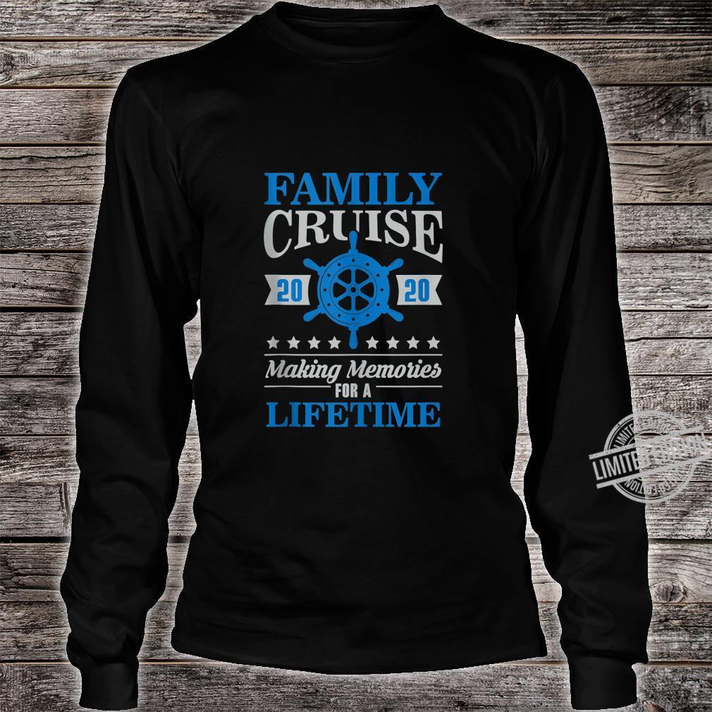 Family Cruise Shirt Matching 2020 Vacation Cruising Holiday Shirt long sleeved