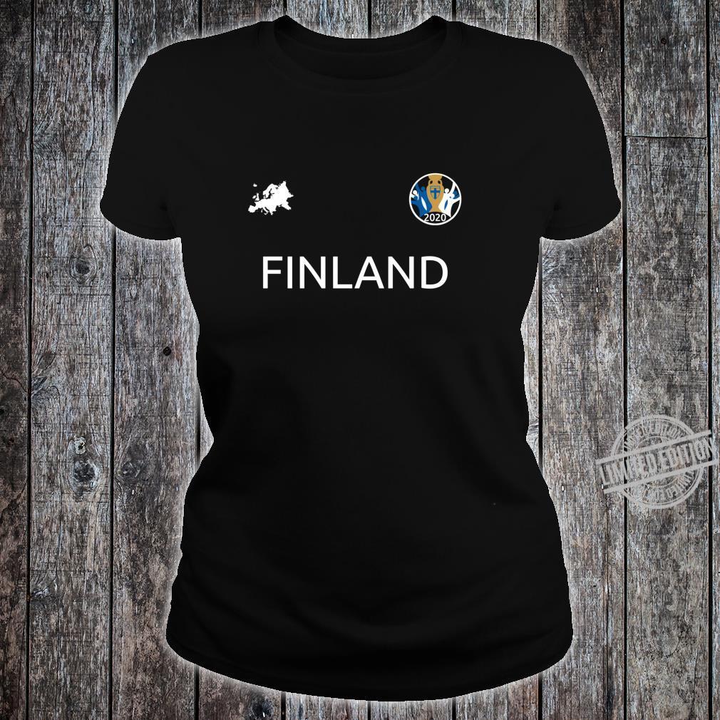 Finland Jersey Euro Soccer Finish 2020 Football Top Shirt ladies tee
