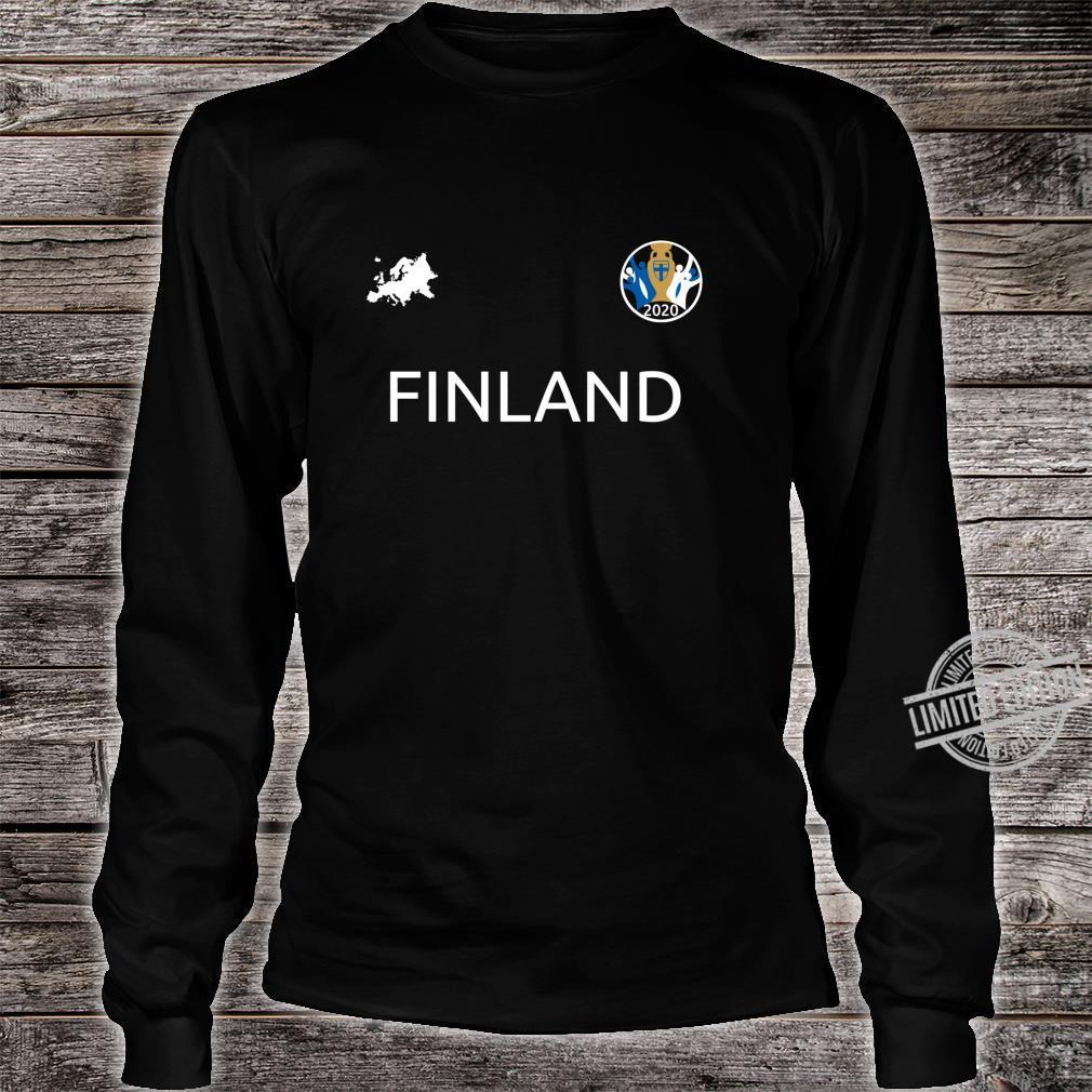 Finland Jersey Euro Soccer Finish 2020 Football Top Shirt long sleeved