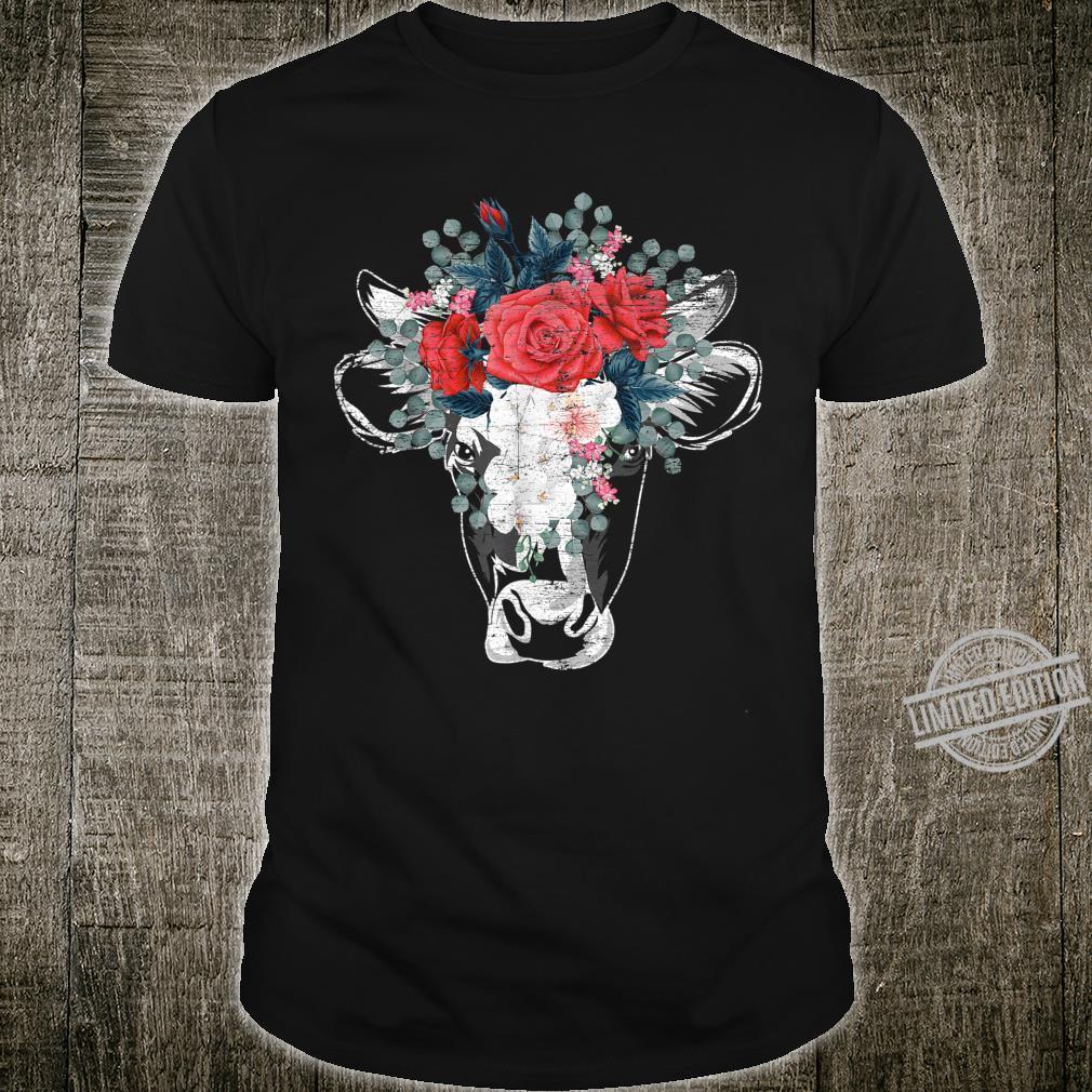 Flower Cow Shirt