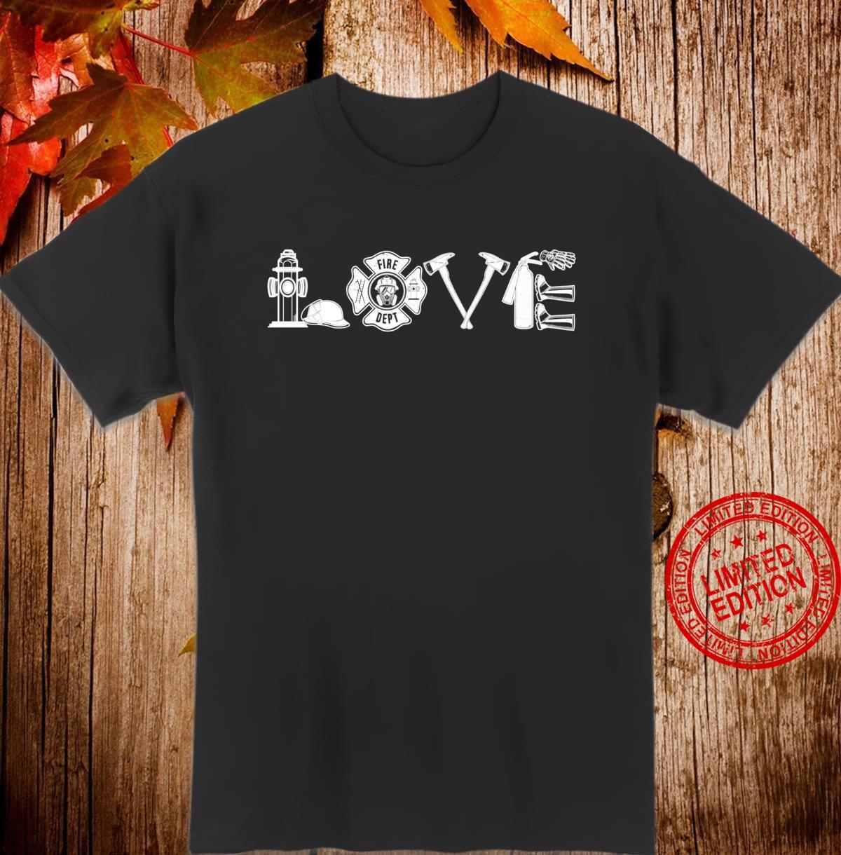 Funny Fireman Wife Fire Department Love Firefighter Shirt