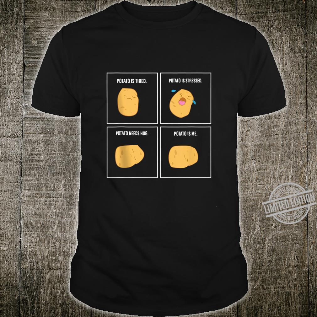 Funny Potato Meme I'm A Potato Vegetarian Vegetable Shirt