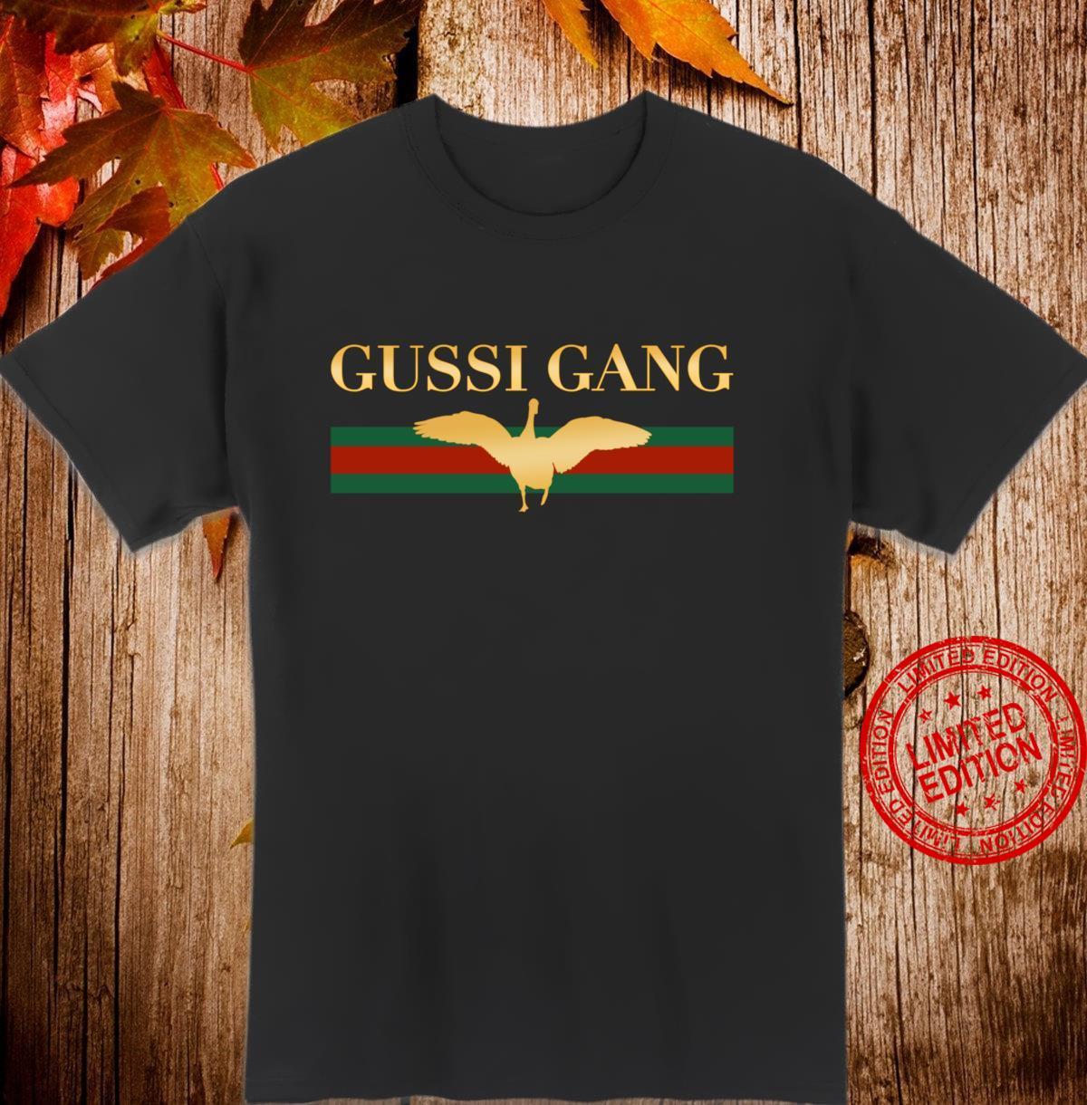 Gussi Gang Russischer Junggesellenabschied Partnerlook Shirt