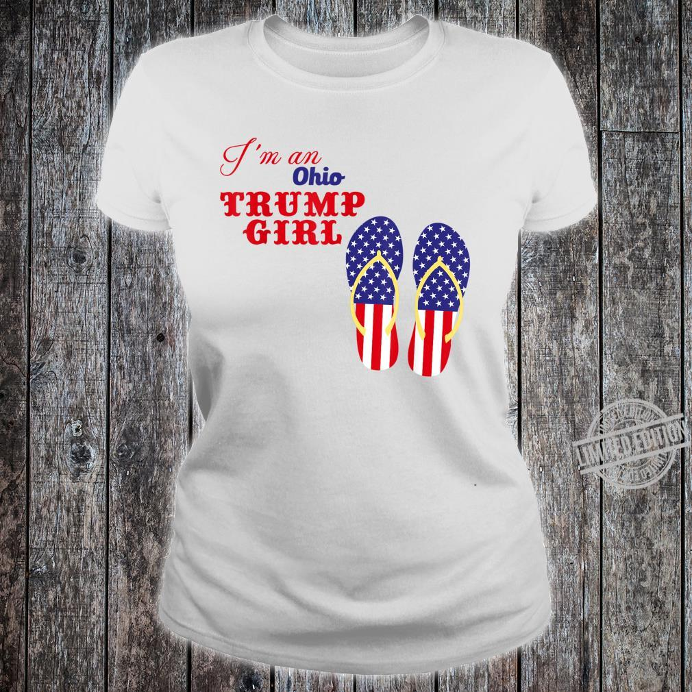 I'm an Ohio Trump girl 2020 Shirt ladies tee