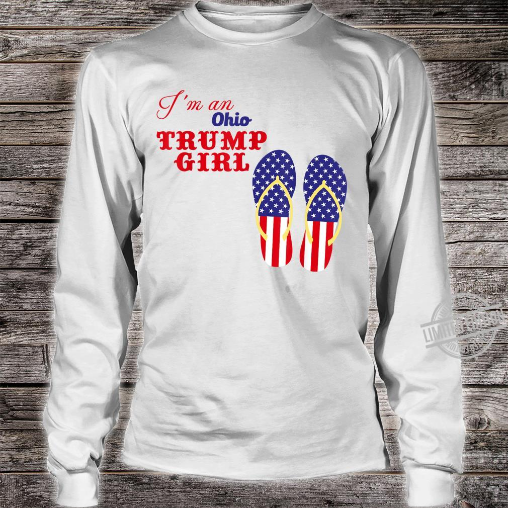 I'm an Ohio Trump girl 2020 Shirt long sleeved