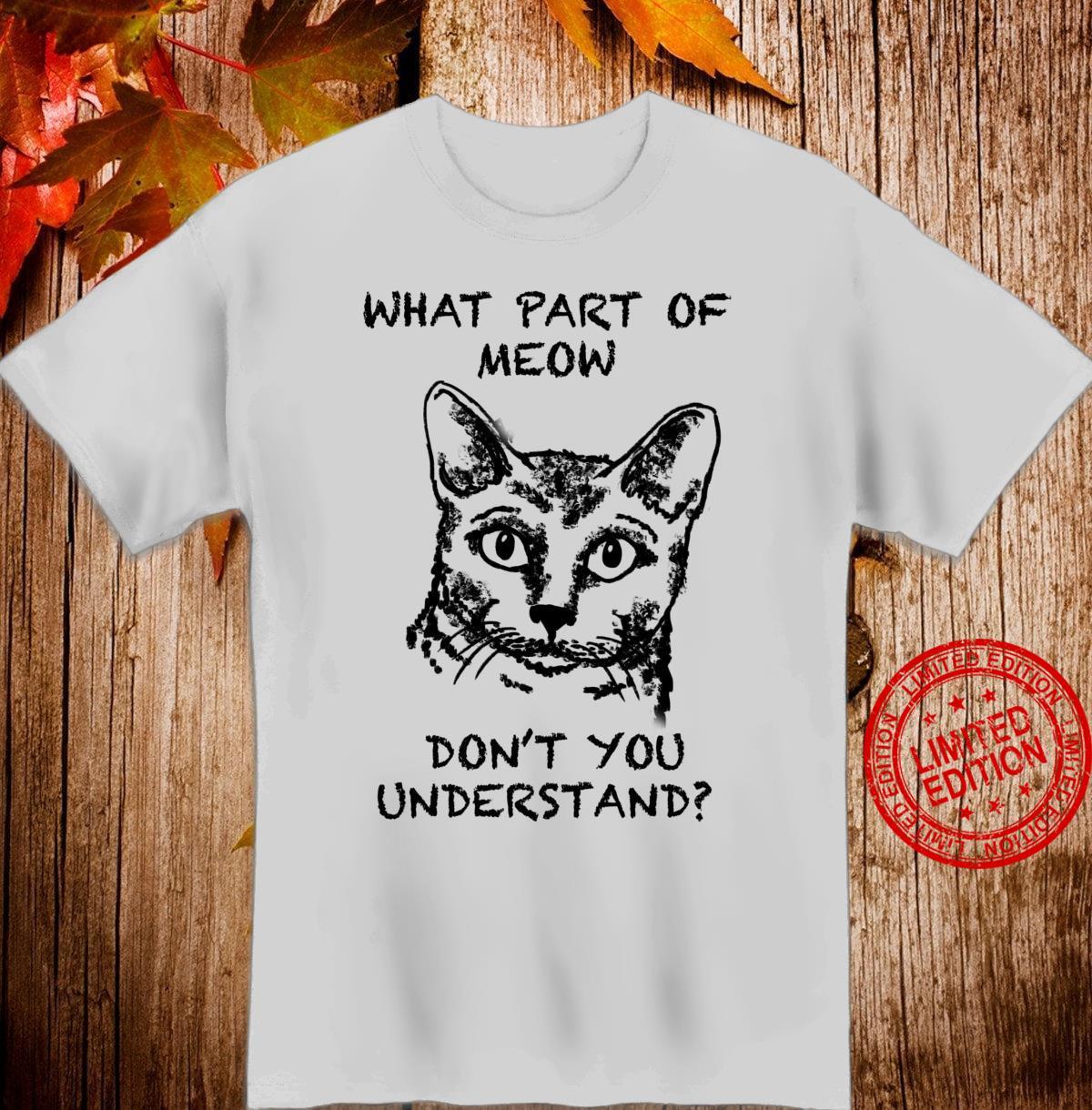 Korat Cat Quote Hand Drawn Art Shirt