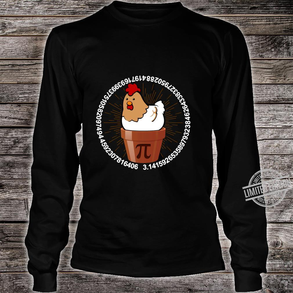 Lovers Chick Match Holiday Chicken Pot Pie Shirt Pi Day Shirt long sleeved
