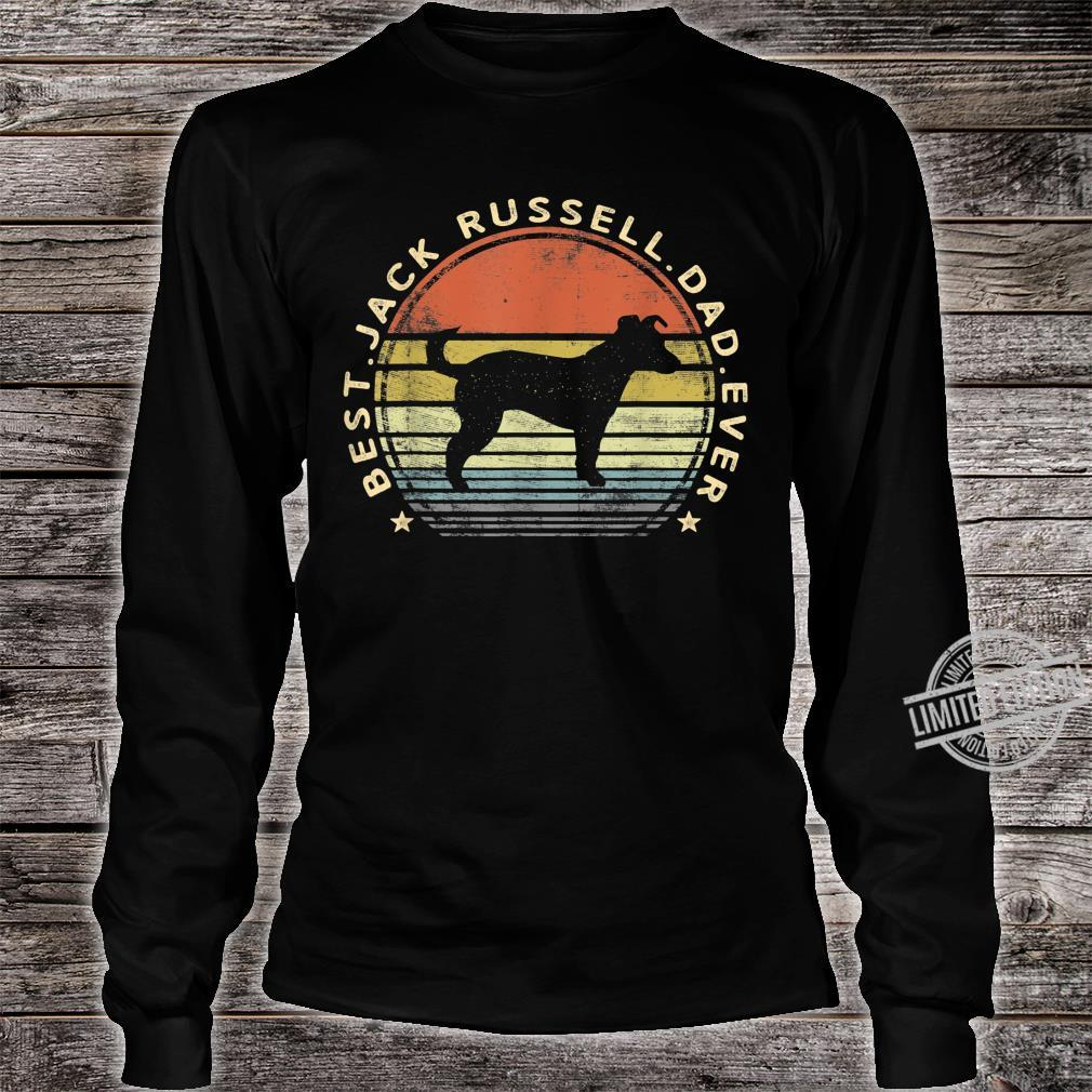 Mens Best Jack Russell Dad Ever Dog Pet Owner Daddy Shirt long sleeved