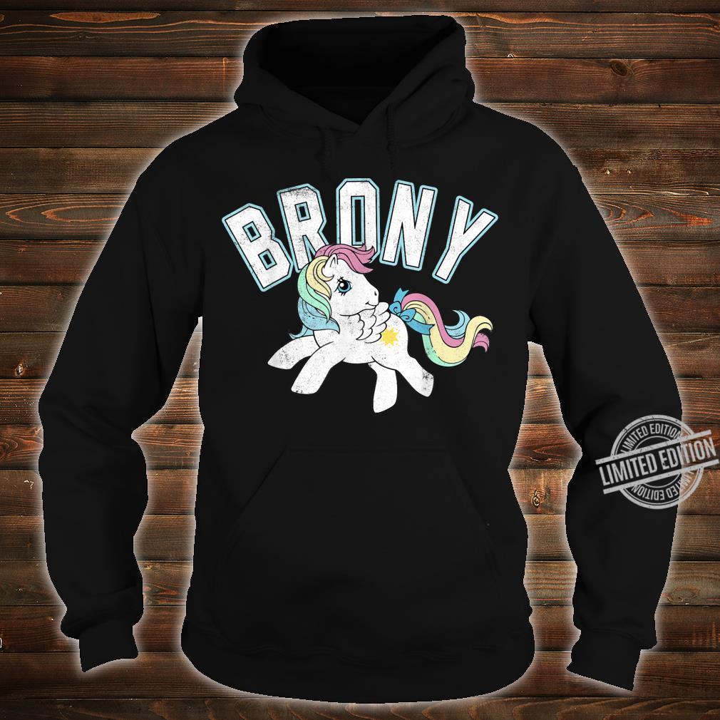 My Little Pony Brony Collegiate Style Shirt hoodie