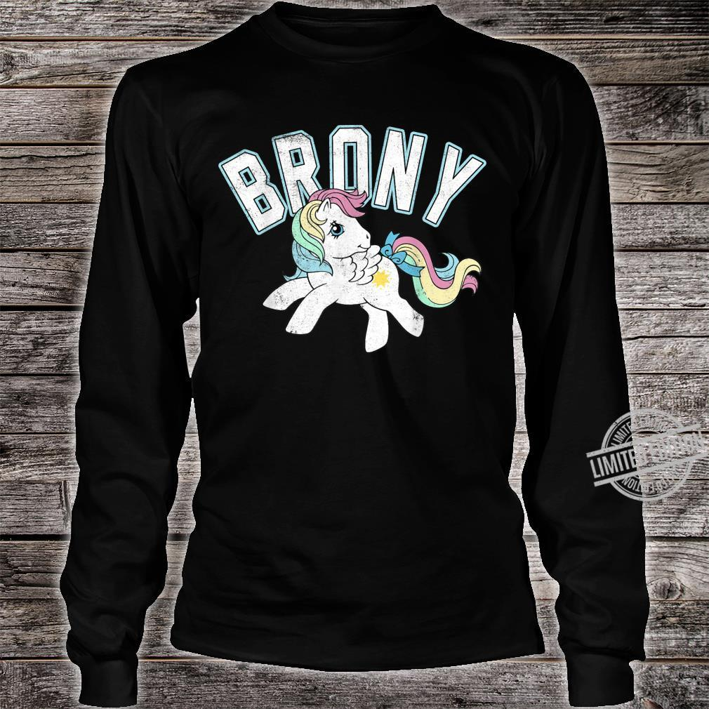 My Little Pony Brony Collegiate Style Shirt long sleeved