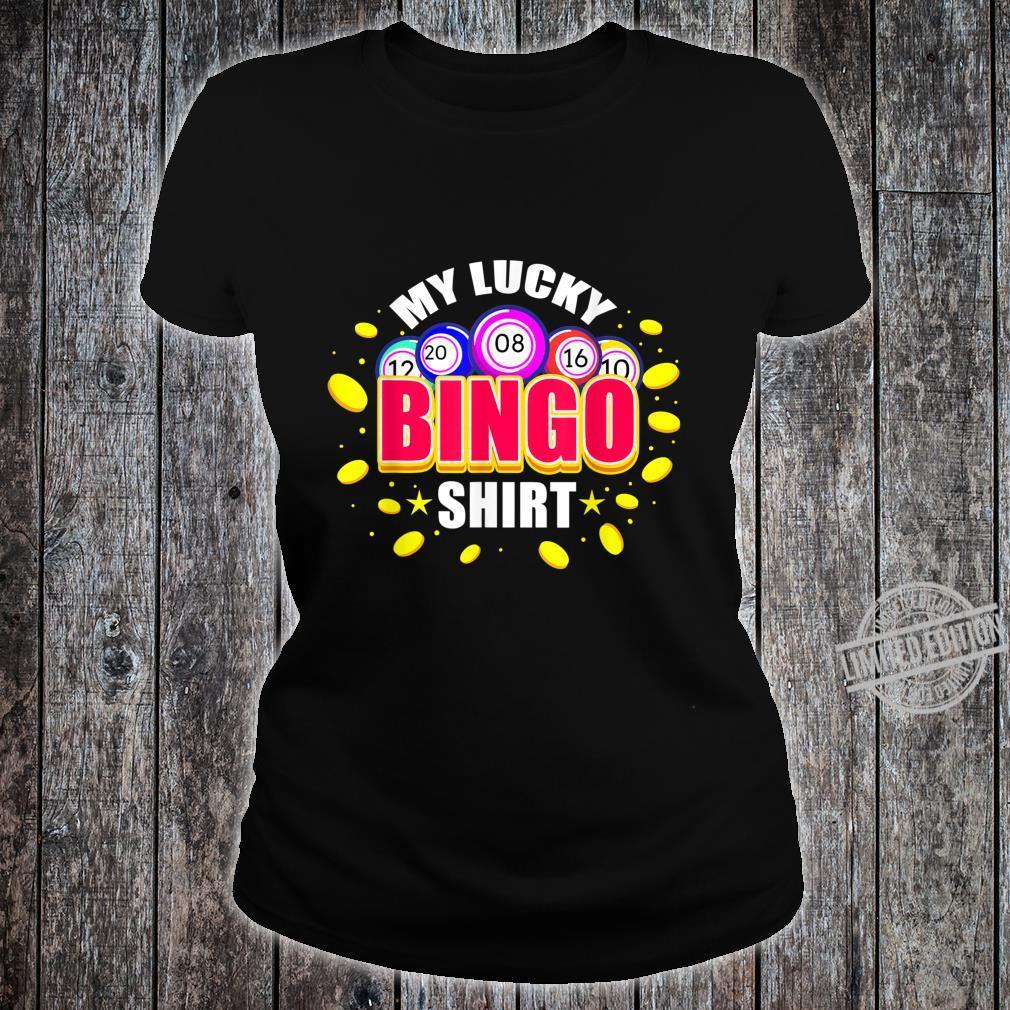 My Lucky Bingo Shirt ladies tee