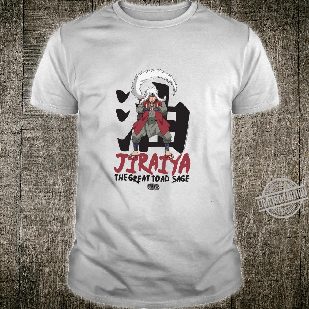 Naruto Shippuden Jiraiya Große Kröte Salbei Langarmshirt Shirt