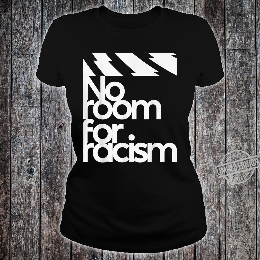 No Room For Racism Life And Sport Awareness Shirt ladies tee