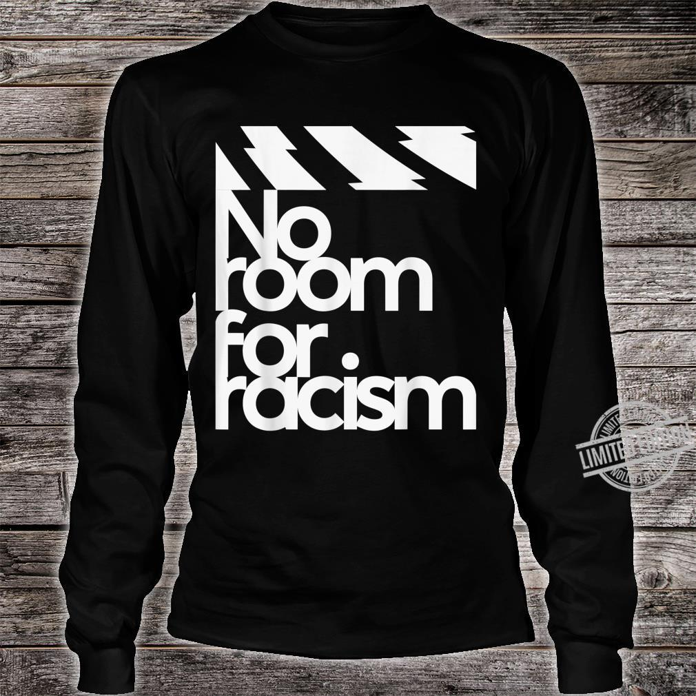 No Room For Racism Life And Sport Awareness Shirt long sleeved