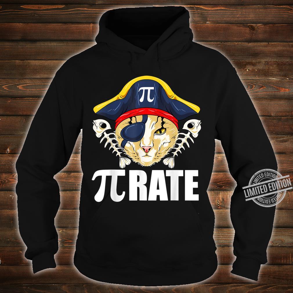 Pi Day Shirt Pirate Cat And Math Shirt hoodie