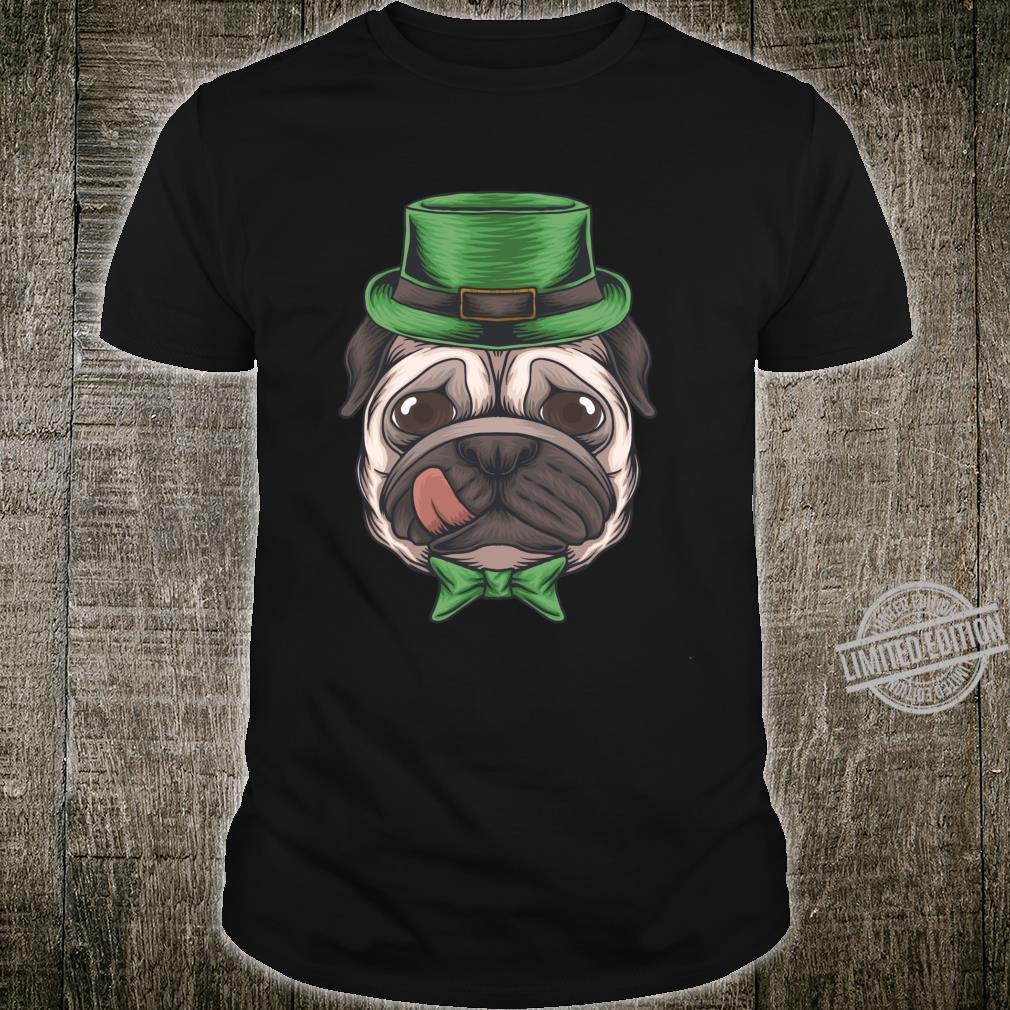Pug St Patricks Day Boys Leprechaun Pug Dog Shirt
