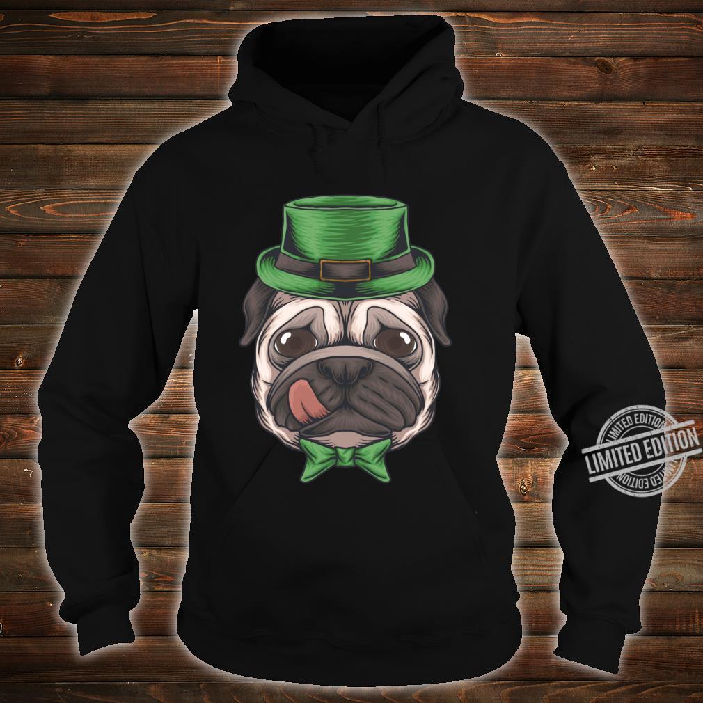Pug St Patricks Day Boys Leprechaun Pug Dog Shirt hoodie