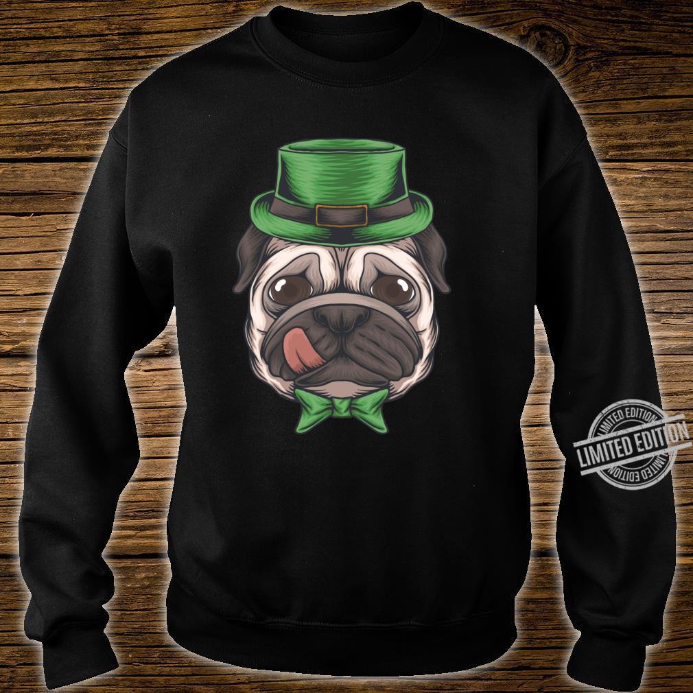Pug St Patricks Day Boys Leprechaun Pug Dog Shirt sweater