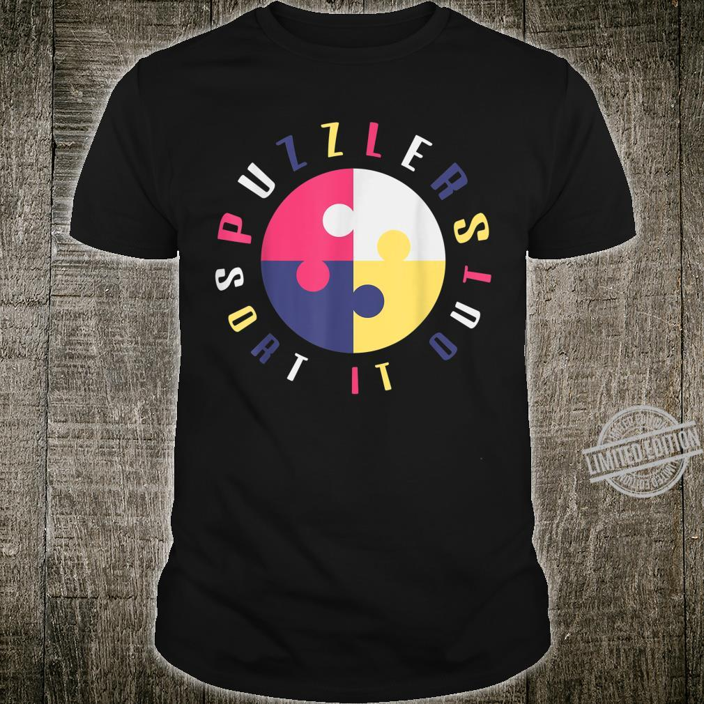 Puzzlers Sort It Out puzzler design games family Shirt