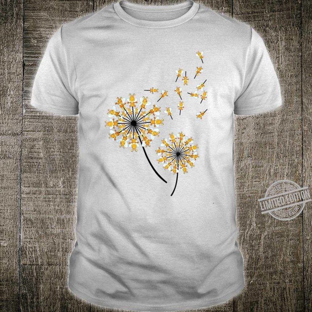 Queen bee Dandelion Queen bee Flower Hippie Shirt