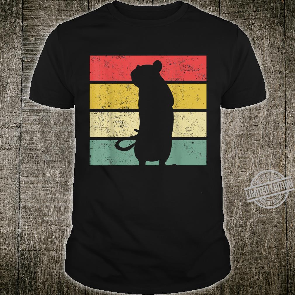 Ratte Ratten Retro Nagetier Liebhaber Shirt