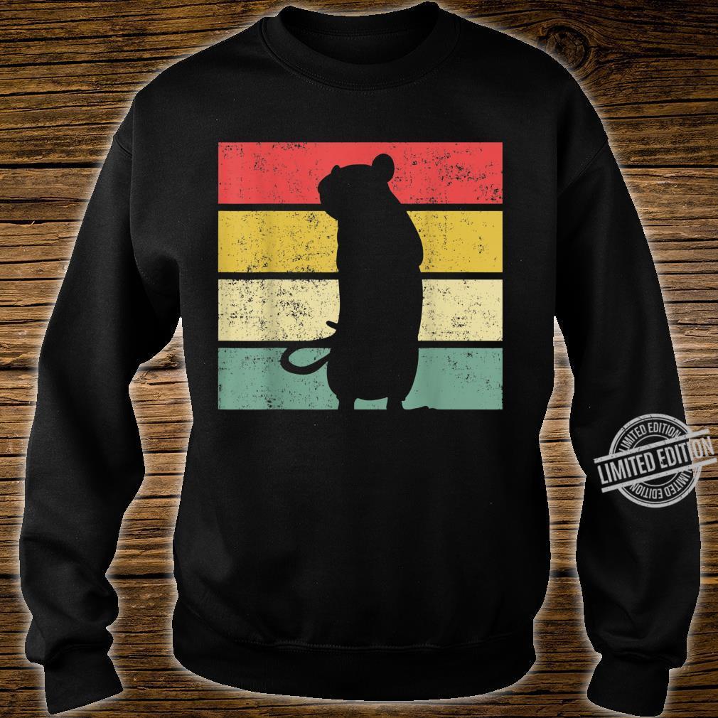 Ratte Ratten Retro Nagetier Liebhaber Shirt sweater