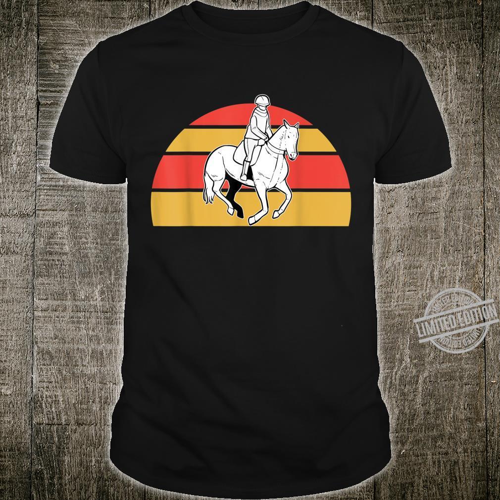 Reiten Reiterin Reiter Pferd Reitsport Reitstall Shirt