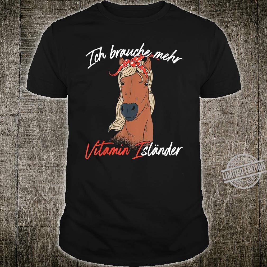 Reiterinnen Pferdefreunde Pferde Sprüche Islandpferde Shirt